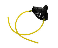 Запасная резина для рогатки Flagman Medium Yellow Elastic With Pounch