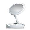 Настольное зеркало для макияжа My Foldaway Mirror Складное с подсветкой Белый, фото 2