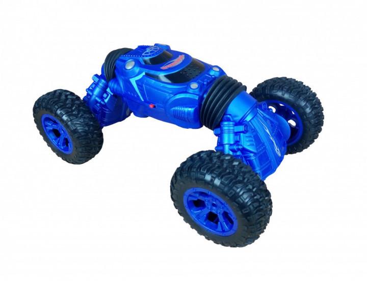 Радіокерована іграшка SUNROZ Twist Climbing Car дитячий трюковий позашляховик на р/к 4X4 Синій