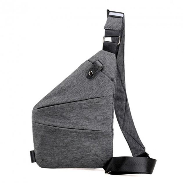 Мужская водонепронецаемая сумка Cross Body, Мессенджер, Антивор, Мужская барсетка на плечо