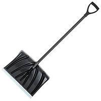 Лопата для прибирання снігу 460*340 мм з ручкою 1300 мм FT-2021 INTERTOOL