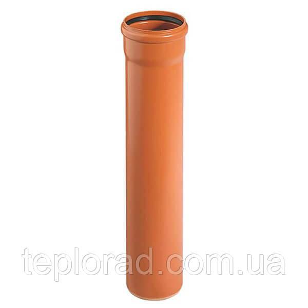 Труба для зовнішньої каналізації Ostendorf KG Ду 160 2000 мм