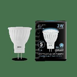 Лампа Gauss LED D35*45 3W MR11 GU4 4100K (150-265 Вольт)