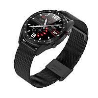 Смарт-часы Microwear L7 с ЭКГ и тонометром - черный корпус, черный ремешок