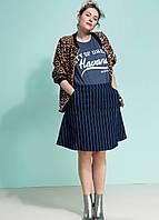 Юбка джинсовая Whkmp's Голландия размер 52 евро наш 58, фото 1