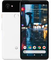 "Смартфон Google Pixel 2 XL 128GB Black&White +стекло, Snapdragon 835, экран 6"" Amoled, NFC, 1sim"