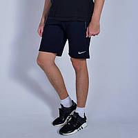 Мужские спортивные шорты Nike (Найк) / Турция, трикотаж / Размеры:44,46,48,50,52,54 - темно-синие