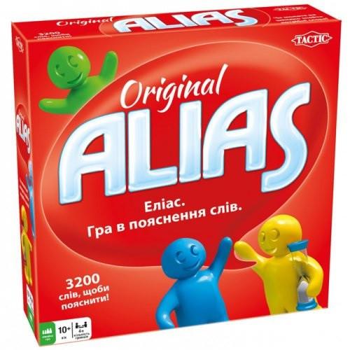 Настольная карточная игра Элиас Классический (Еліас Класичній) Alias Original Укр