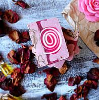 Натуральное мыло Дамасская роза скраб, фото 1