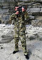 Универсальный камуфляжный костюм Кобра с капюшоном