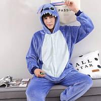 Пижама кигуруми Голубой стич S, M, L, XL