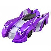 Радиоуправляемая игрушка CLIMBER WALL RACER Антигравитационная машинка Фиолетовая