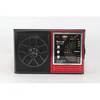 """Портативный радио приемник """"GOLON"""" QR-132UAR USB FM Красный"""