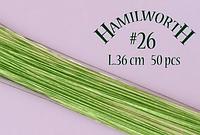 Проволока светло-зеленая Hamilworth №28