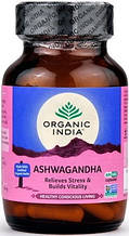 Ашваганда Органик Индия (Ashwagandha Organic India), 60 капсул