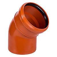 Отвод для наружной канализации Ostendorf KG Ду 110/45 (220220)