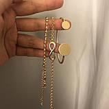 """Браслет """"Gold Set"""" комплект з 3 браслетів, золото, фото 4"""
