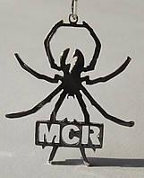 Кулон подвеска из серебра My Chemical Romance