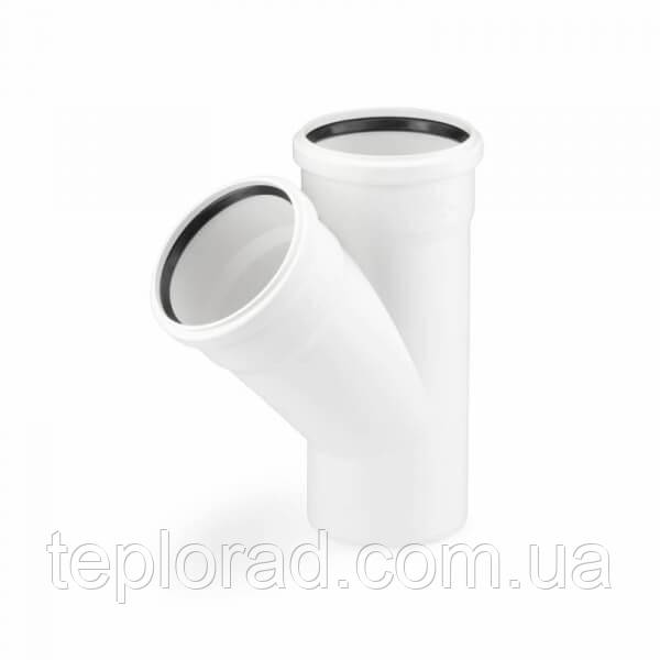 Тройник Raupiano Rehau Plus 50/50/45 (121234001)