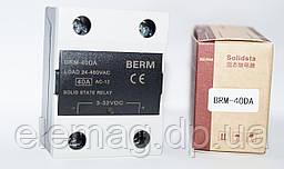 40DA Твердотільне реле BERME SSR - BRM 40DA