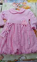 Платье для новорожденных на выписку или крестины