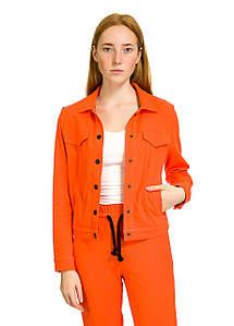 Пиджак женский Britton оранжевого цвета