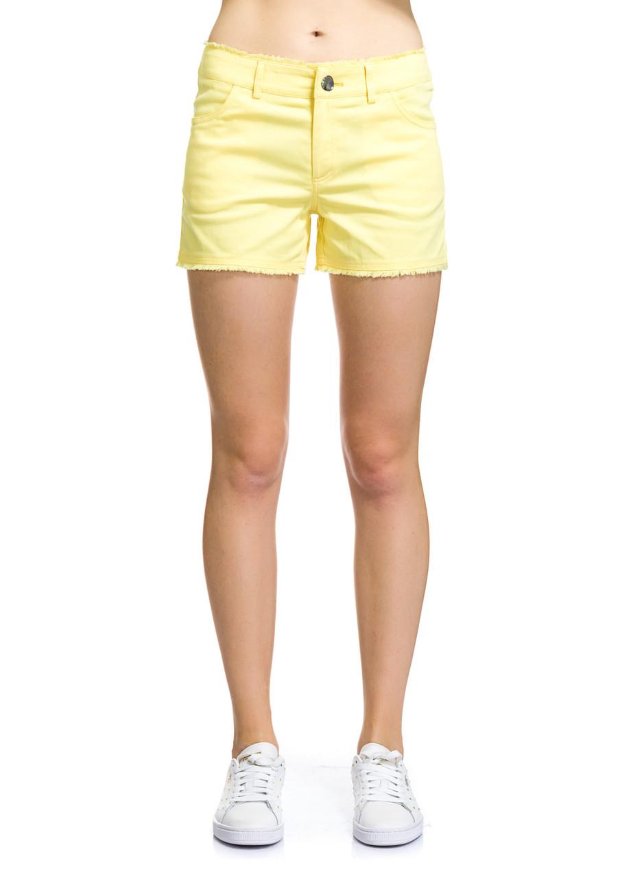 Шорты женские Alanis желтого цвета