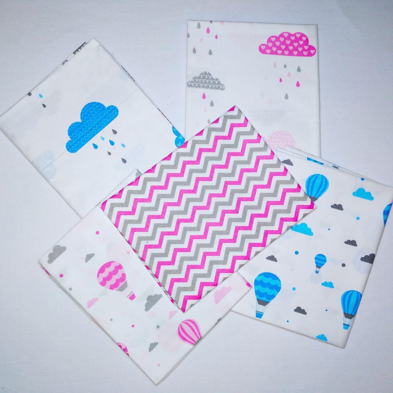 Хлопковая пеленка для новорожденных 80*100см | Бавовняна пелюшка для новонароджених 80*100см