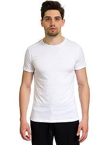 Футболка мужская Lionel белого цвета