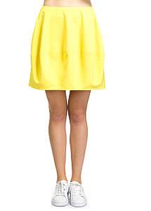 Юбка женская Essie желтого цвета