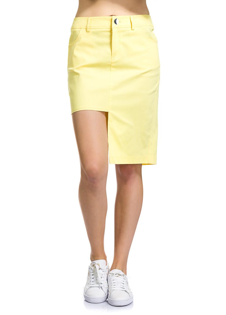 Юбка женская Gretta желтого цвета