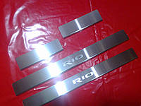 Накладки на пороги KIA RIO 3 2011+