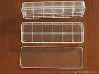 ВДВ Тубус-контейнер для бисера 12 ячеек