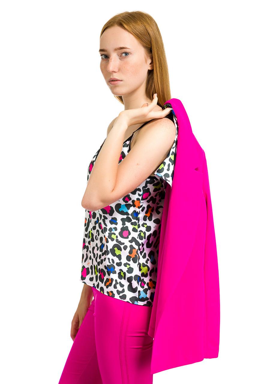 Майка женская Sheona леопардового цвета