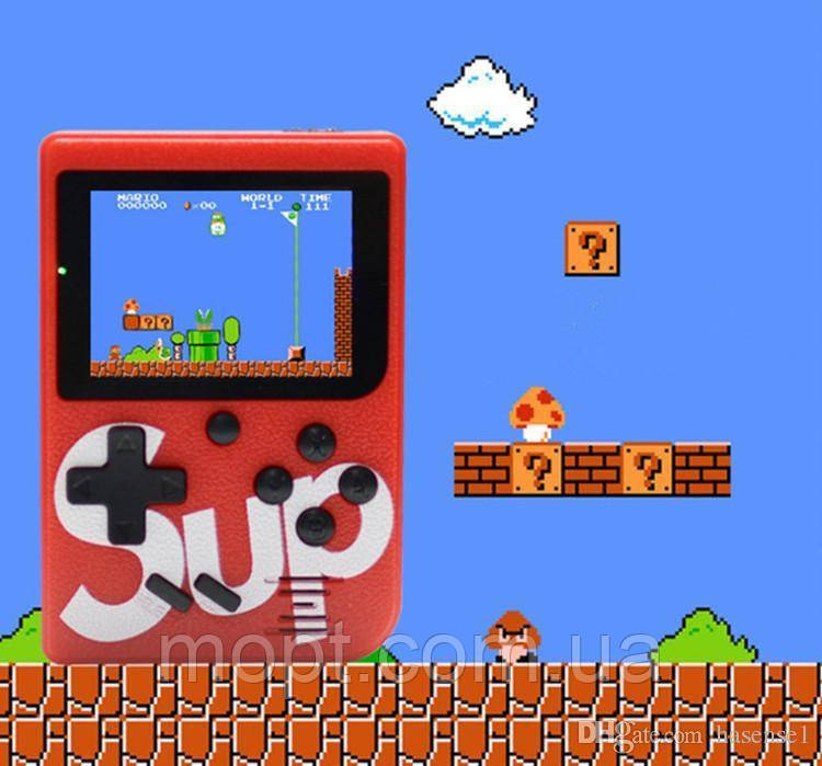 Игровая консоль ГеймБокс Sup 400 в 1 игровая приставка 8 Bit с подключением к ТВ Ретро Игры + ПОДАРОК