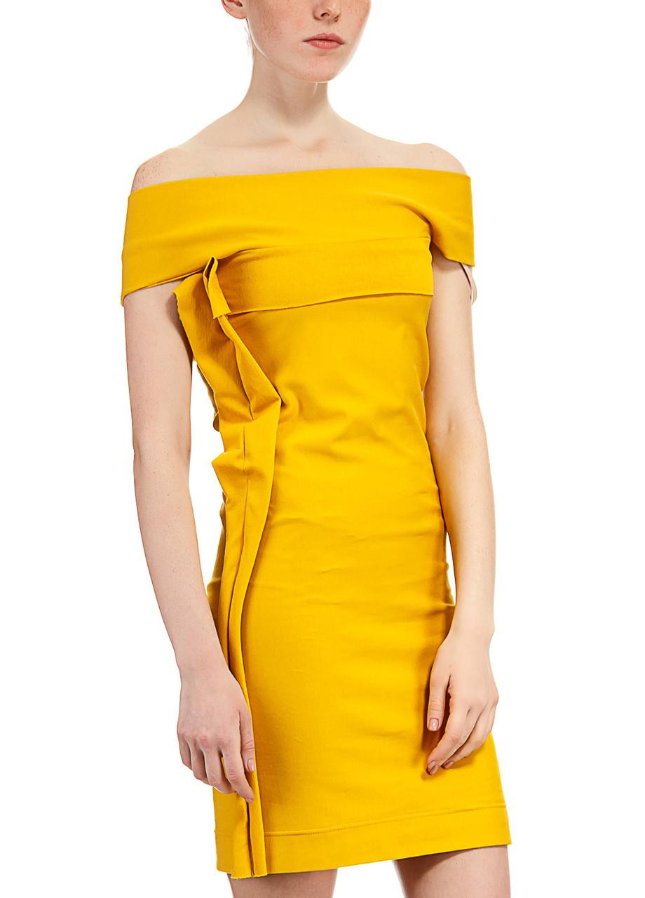 Платье женское Steffi горчичного цвета