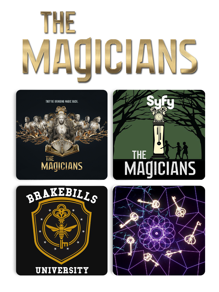 Подставки под чашку Волшебники с символикой