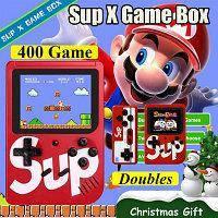 Приставка SUP Dendy ГеймБокс 400 в 1 игровая приставка (Оригинал 8 Bit) с подключением к ТВ РетроИгры+ПОДАРОК