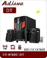 Акустическая система колонки Ailiang USBFM-076DC-DT, фото 1