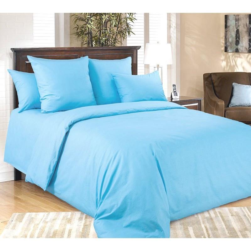 Комплект постельного белья из поплина Лагуна, разные размеры полуторный