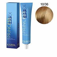 Краска для волос Estel ESSEX (10-36 Светлый блонд золотисто-фиолетовый)