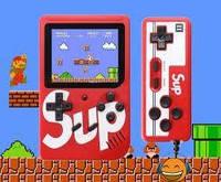 Игровая консоль SUP GAME BOX 400 игр + джойстик для 2х игроков на ТВ + ПОДАРОК/АКЦИЯ
