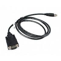 Кабель для передачи данных USB to COM 1.5m Cablexpert (UAS-DB9M-02), фото 1