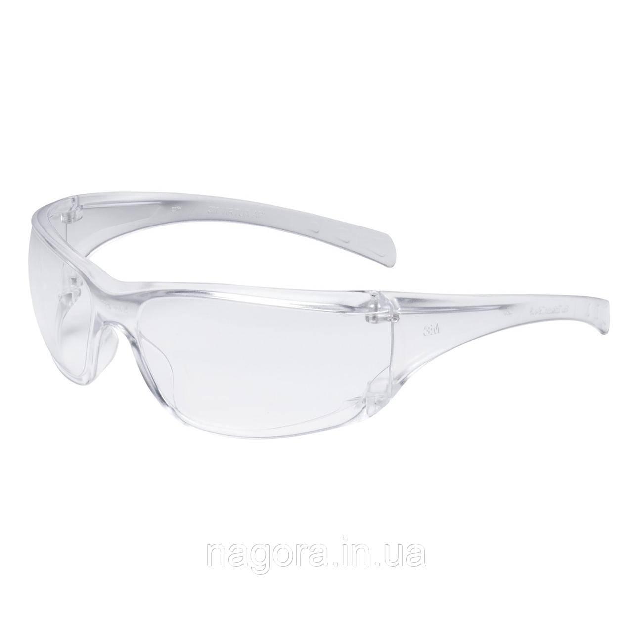 Захисні окуляри 3M™ серії Virtua AP полікарбонатна лінза AS прозорі