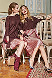2080 платье-туника Мохер, бургунди (42-44), фото 5