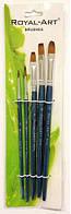Кисточка для рисования 5шт Walid Royal-Art Brushes RA-2606
