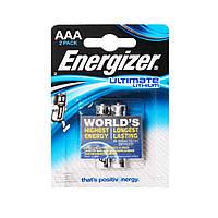 Батарейки AAA (FR03) Energizer Ultimate Lithium - 2шт.
