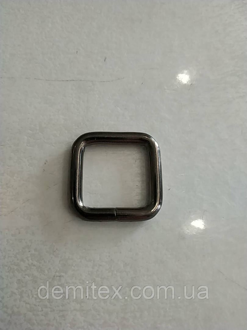 Рамка черный никель 20х20х4мм
