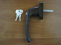 Ручка оконная 8 п. Антидетка коричневый