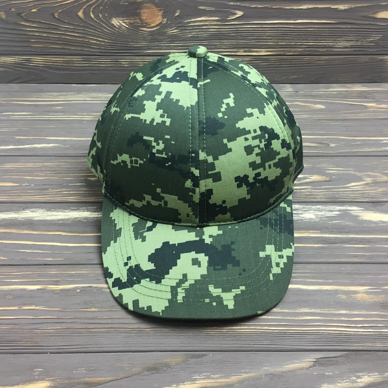 Мужская кепка- бейсболка камуфляж пограничник